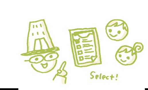 リノベーションの専門家と相談して物件を選べます。