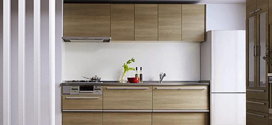 カラー・デザインが選べる『システムキッチン』